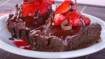 Ciasto korzenno-czekoladowe