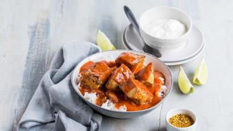 Curry z kurczakiem i pomidorami