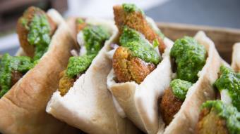 Falafele - kotleciki z ciecierzycy
