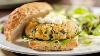 Fiszburger - kotlet rybny