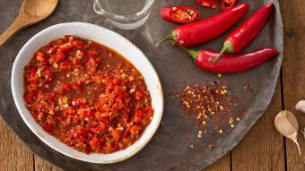 Gotowany sos sambal