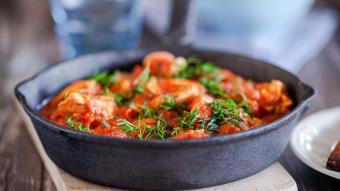 Jagnięcina w sosie pomidorowym