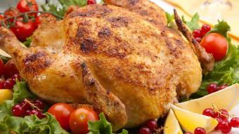 Kurczak aromatyczny i chrupiący