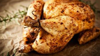 Kurczak pieczony po staropolsku