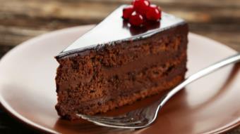 Mazurek czekoladowy bez mąki