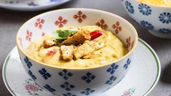 Przepis na pikantną, meksykańską zupę z kukurydzy