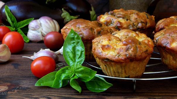 Muffiny jajeczne - przepis Kamis