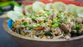 Nasi goreng - indonezyjski smażony ryż