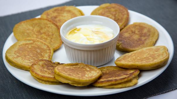 Pancakes z pieczoną dynią