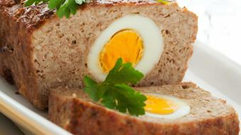 Pieczeń rzymska z jajami