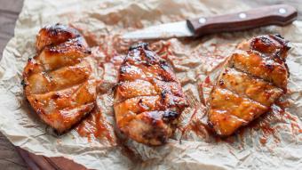 Piersi kurczaka z grilla