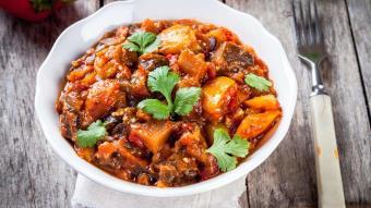 Pisto manchego - ragout z warzywami