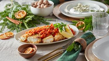 Ryba po grecku - tradycyjna potrawa wigilijna - przepis Kamis