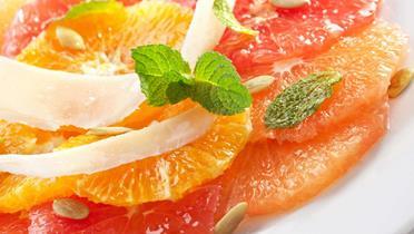 Sałatka z pomarańczy i cebuli