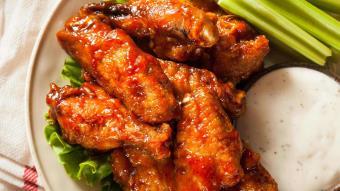 Skrzydełka kurczaka w pikantnej przyprawie cajun