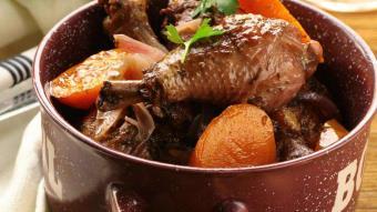 Warzywna potrawka z kurczaka