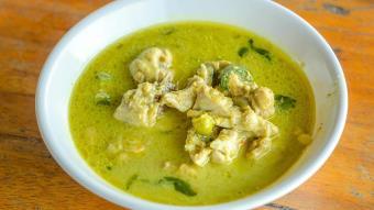 Zielone curry po tajsku