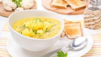 Zupa - francuski krem kalafiorowy
