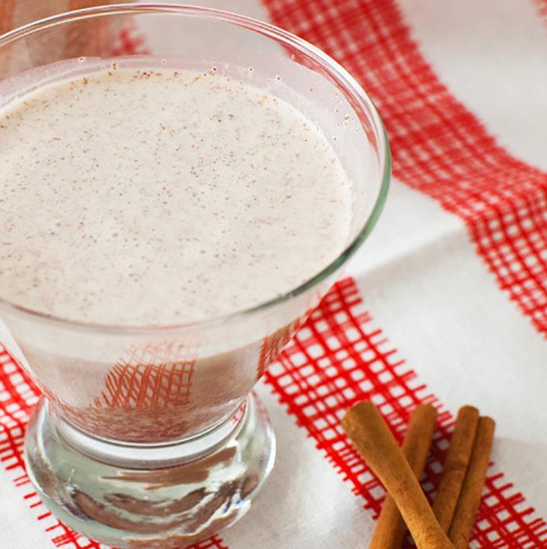 Kremowy drink czekoladowo - cynamonowy