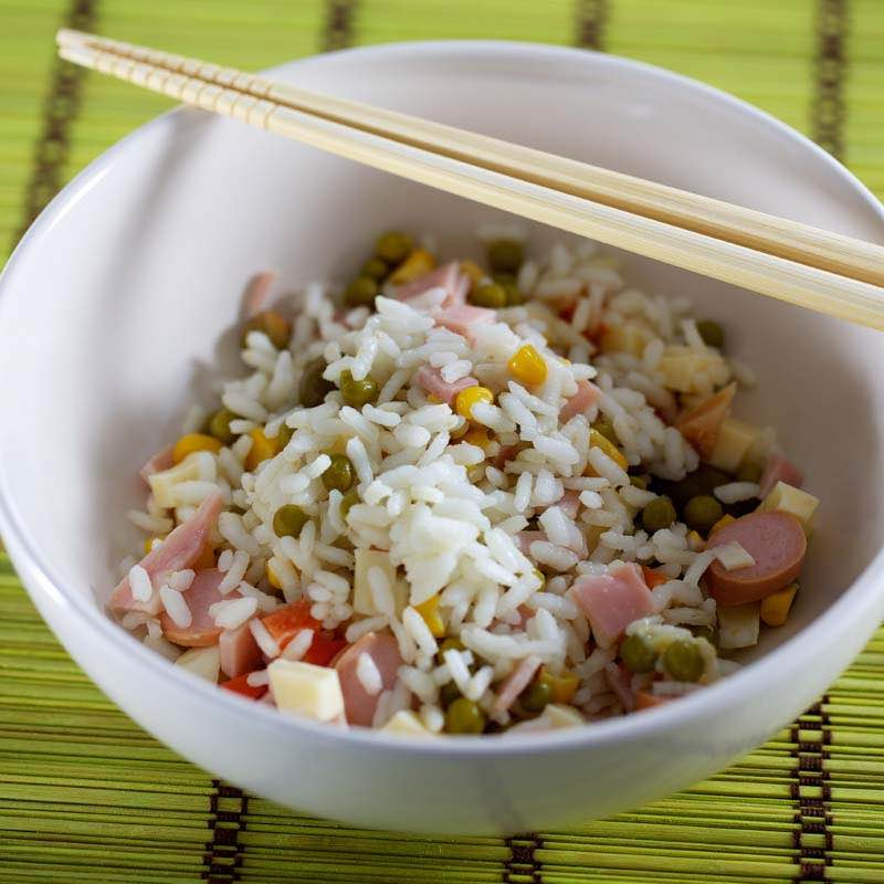 Sałatka ryżowo-paprykowa