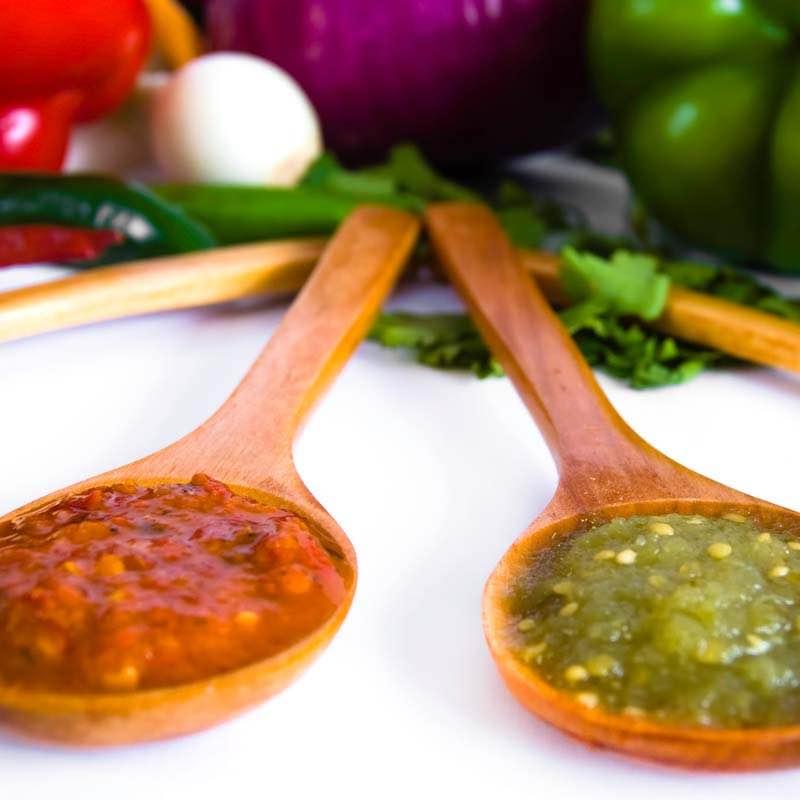 Salsa z zieloną papryką