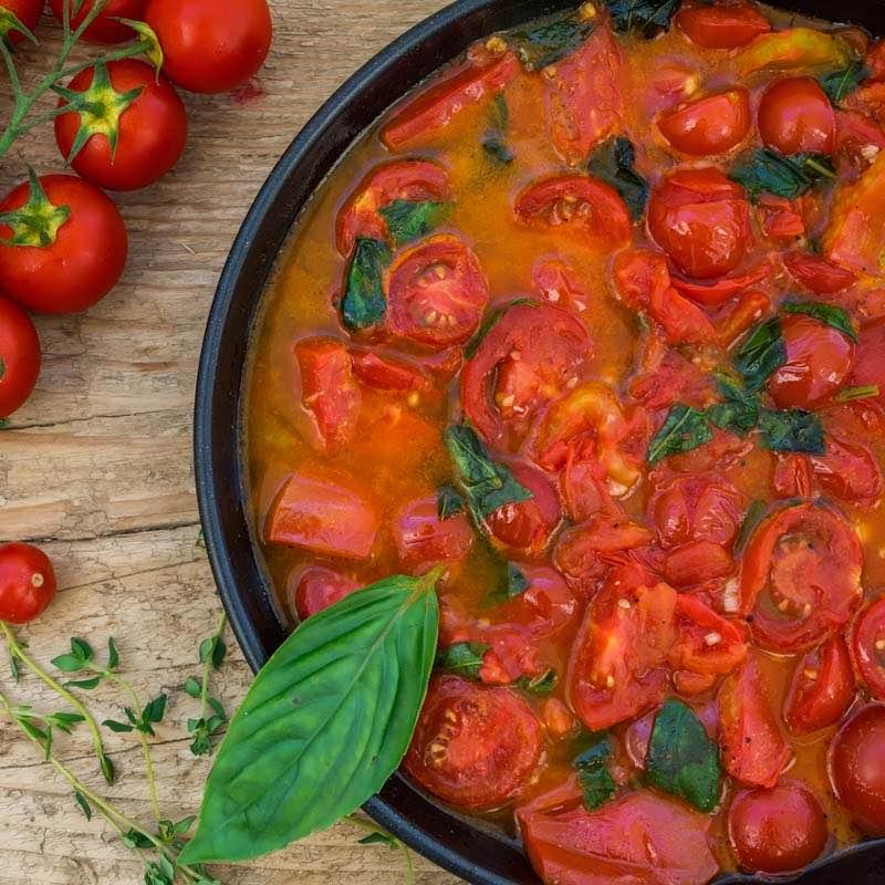 Sos pomidorowy prowansalski