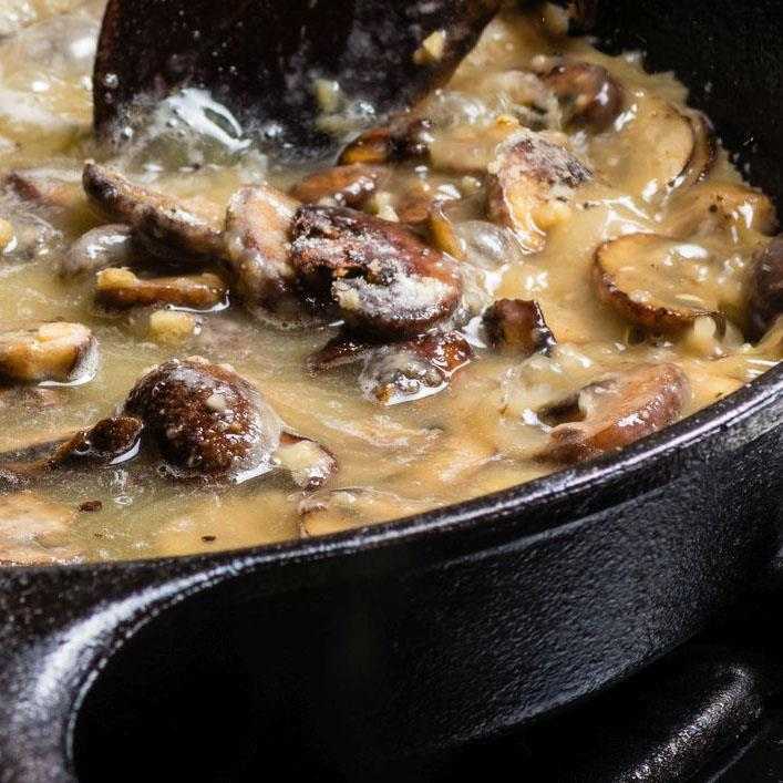 Sos z suszonych grzybów