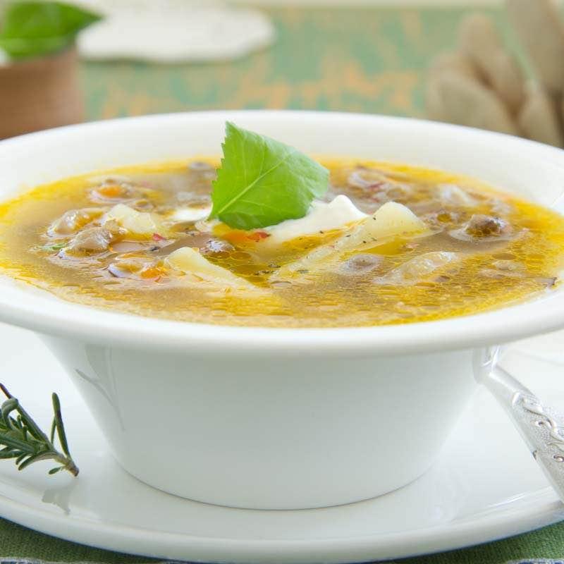Zupa maślakowa