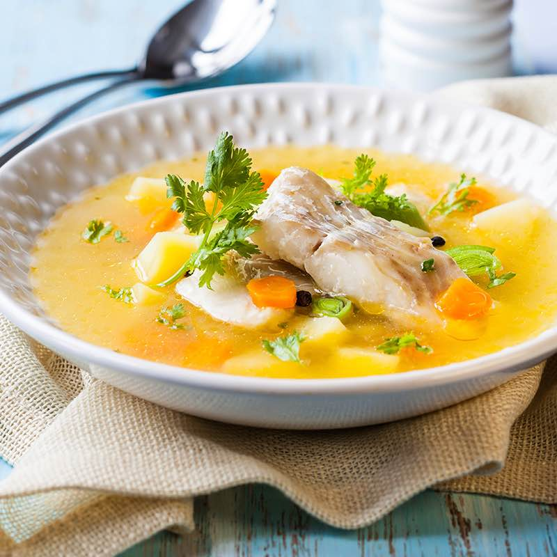 Zupa rybna - uha