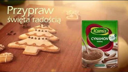Reklama Kamis Przypraw Święta radością 2015