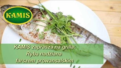 Ryba nadziewana farszem prowansalskim