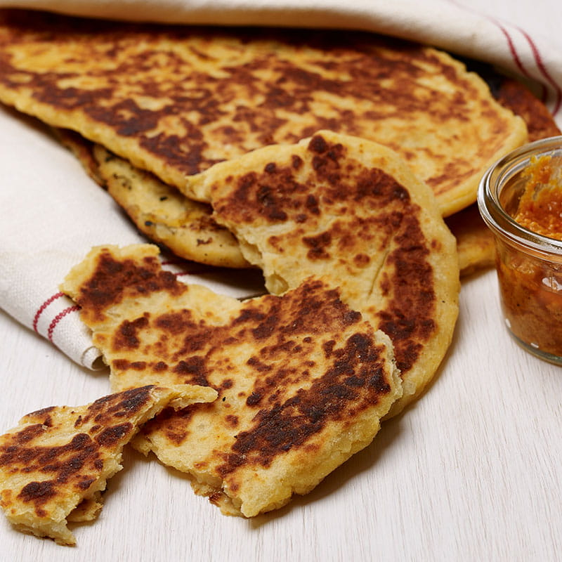 Plancha Grilled Bread