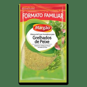 mistura com ervas aromaticas para grelhados de peixe