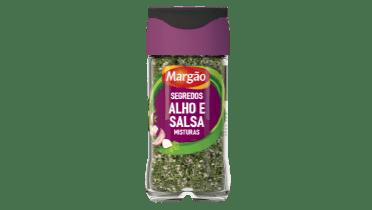 segredos alho e salsa