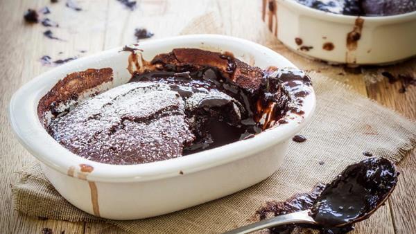 Bolinho de Chocolate Fundido com Especiarias
