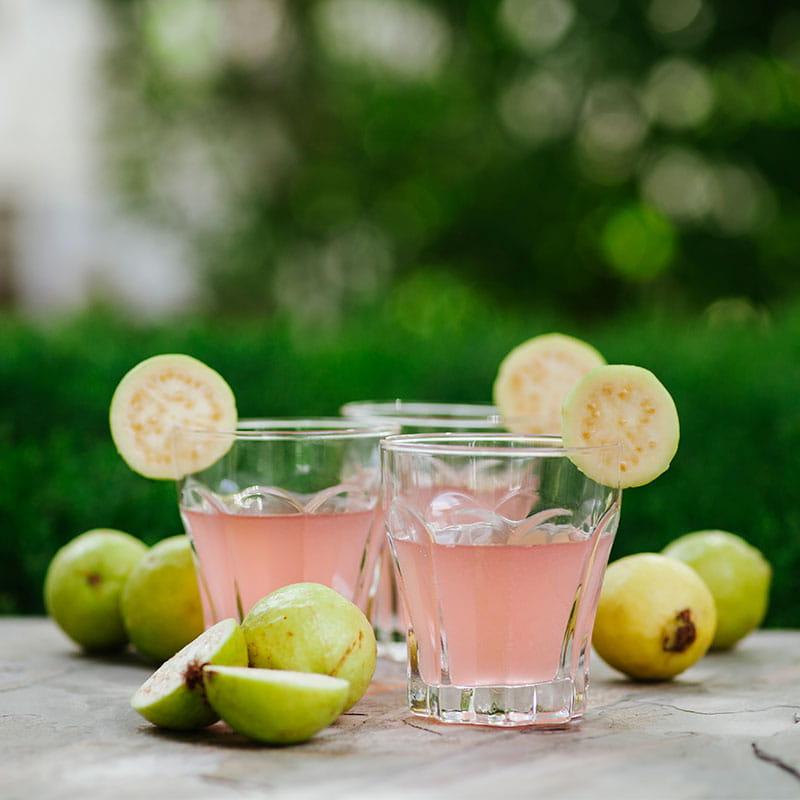 Cocktail de Goiaba Brasileiro