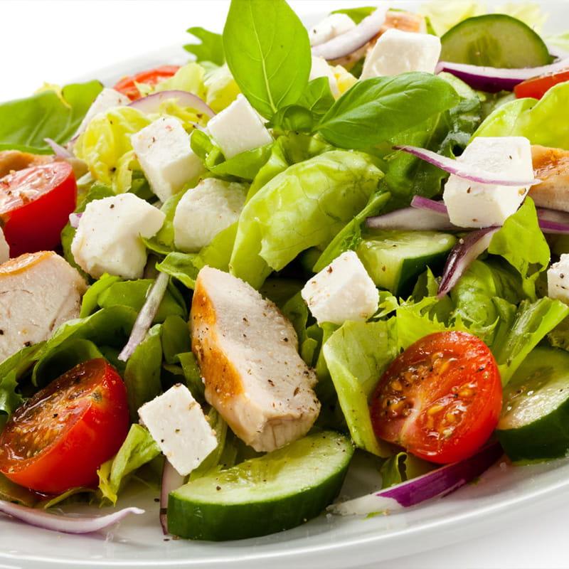 Salada de Frango com Limão e Tomilho