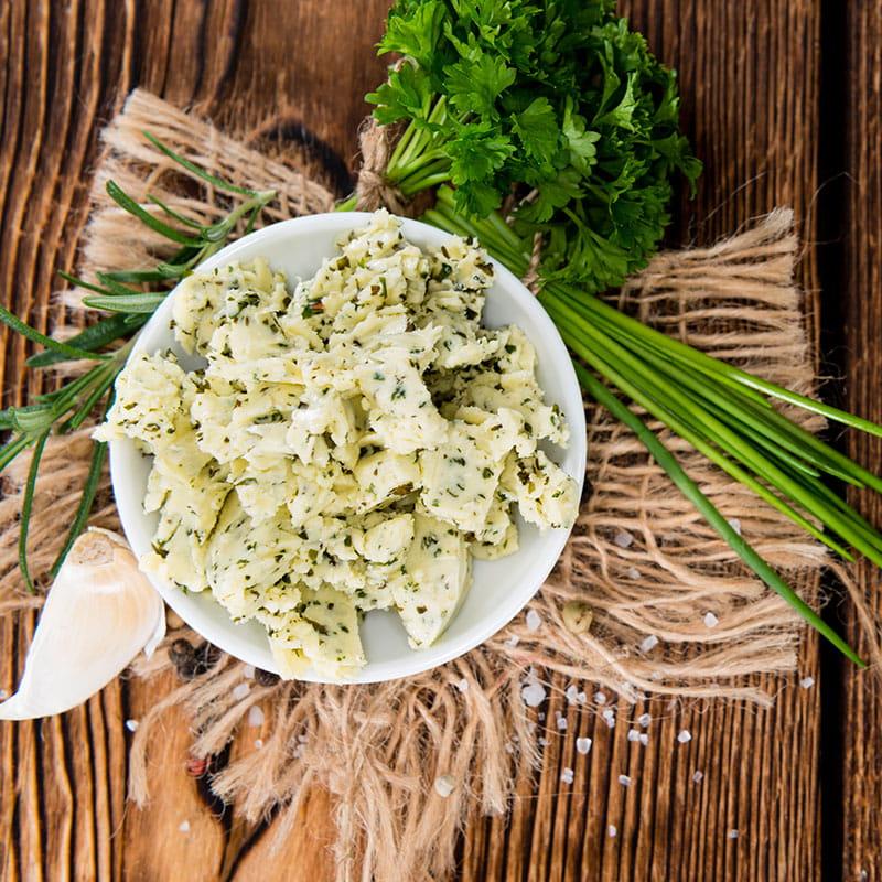 Manteiga de Ervas Aromaticas