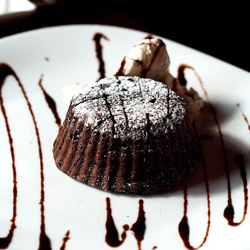 Brownies Mexicanos Apimentados com Natas Batidas e Chocolate