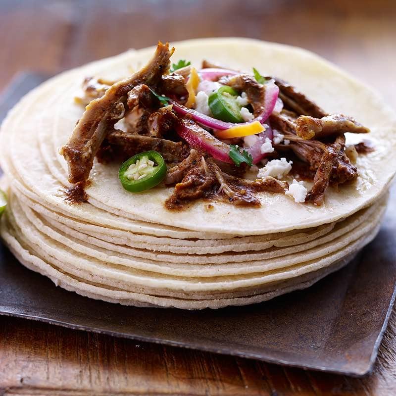 Carne de Porco Levemente Assada a Moda do Mexico cochinita pibil