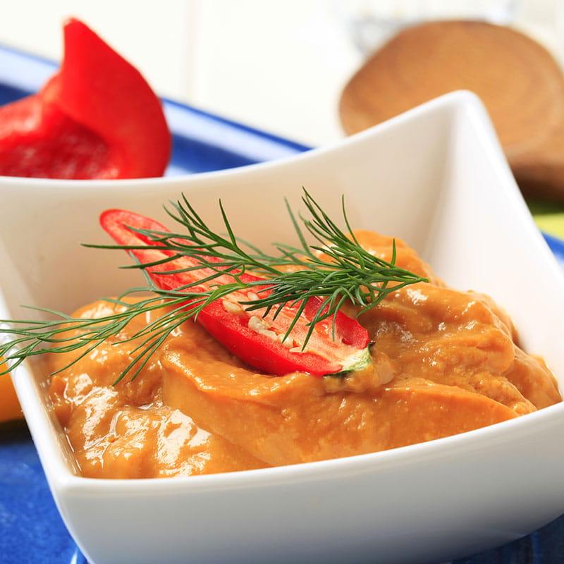Molho Italiano de Pimentos Vermelhos
