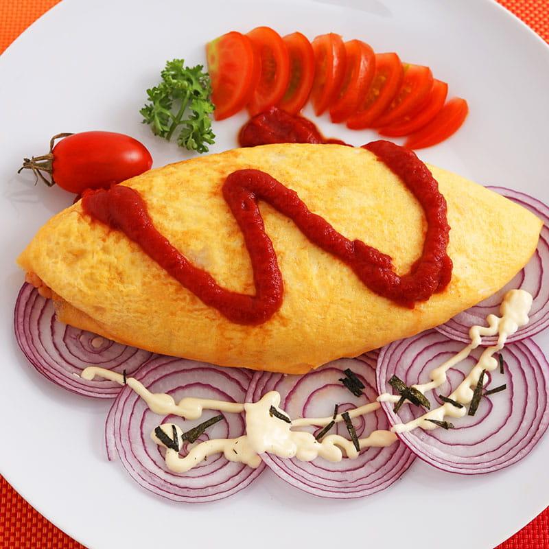 Omeleta Mexicana de Frango