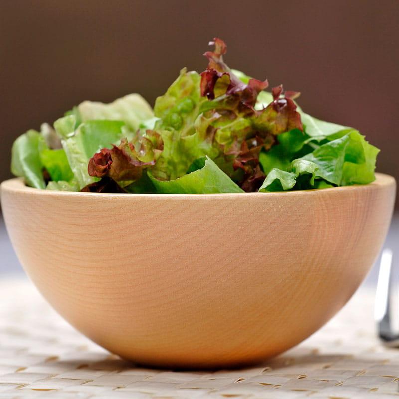 Salada de Folhas Verdes
