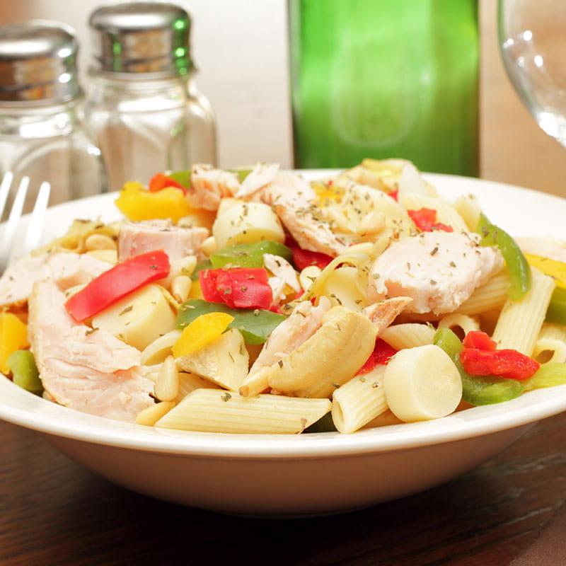 Salada de Frango com Massa