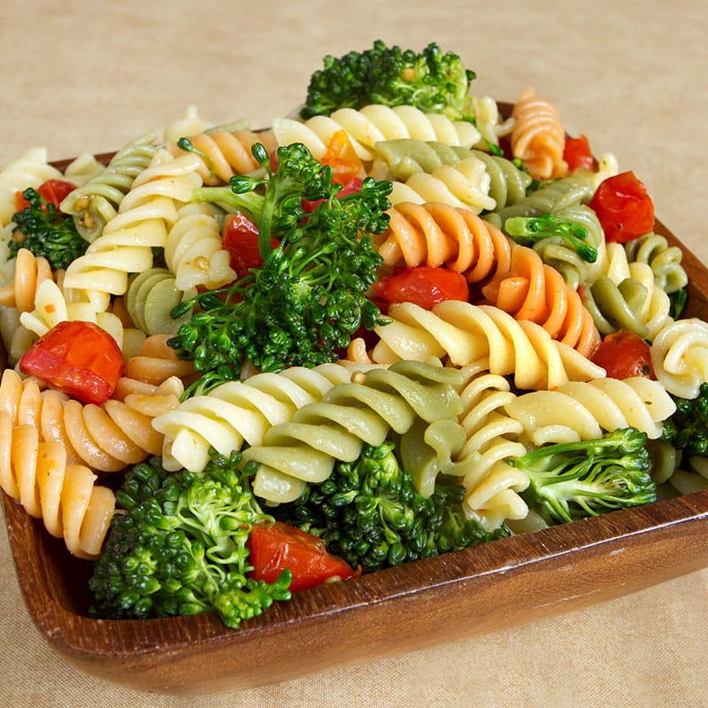 Salada de Massa em Molho Vinagrete