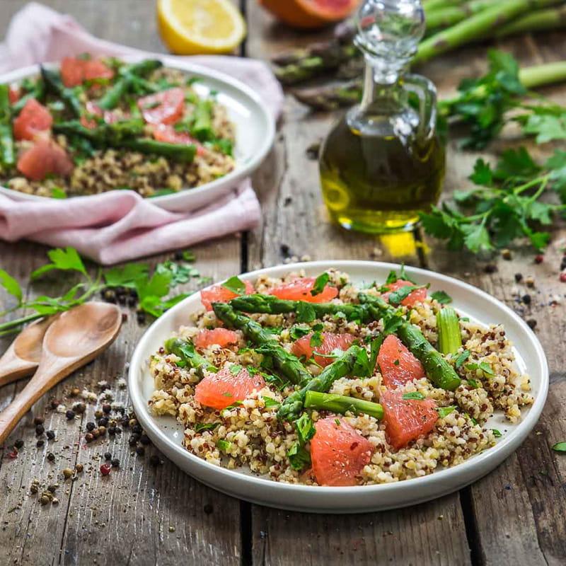 Salada de Quinoa com Moinho Pimenta do Chef