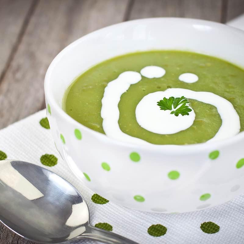 Sopa de batata Gengibre