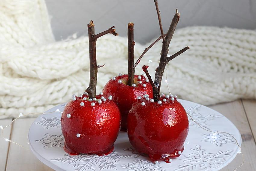 Pommes d'amour festives