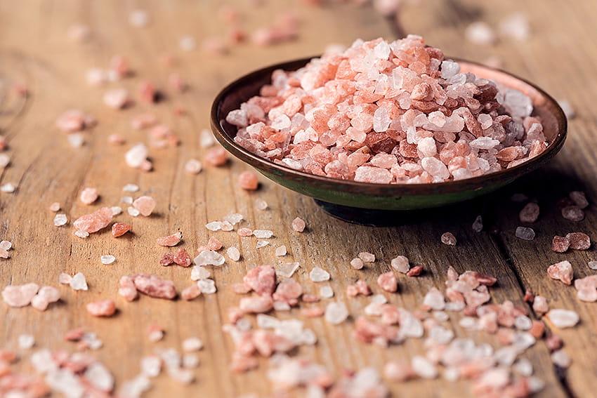 Rosa Salz aus dem Himalaya