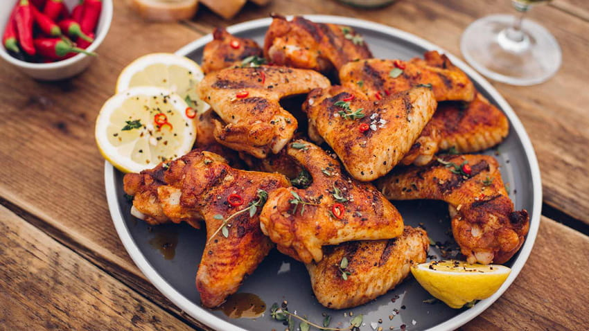 Süss-saure Chicken Wings